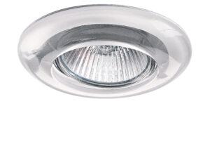 002230 (GM790) Светильник ANELLO TR MR16/HP16  ХРОМ/ПРОЗРАЧНЫЙ (в комплекте)