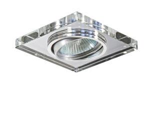 002524 Светильник RIFLE QUA CR MR16/HP16 ПОВОРОТ  ХРОМ/ЗЕРКАЛЬНЫЙ (в комплекте)