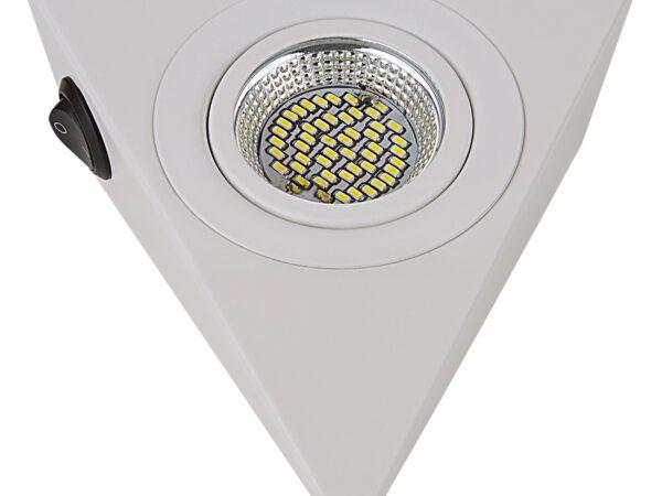 003340 Светильник MOBILED ANGO LED 3.5W 270LM 90G БЕЛЫЙ 4000K (в комплекте)