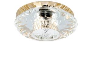 004512-G9 Светильник BOMO CR G9 ЗОЛОТО/ПРОЗРАЧНЫЙ (в комплекте)