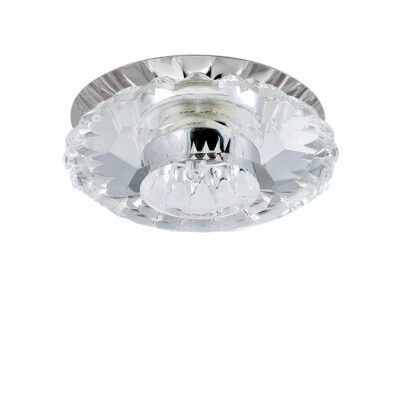 004514-G9*** Светильник BOMO CR G9  ХРОМ/ПРОЗРАЧНЫЙ (в комплекте)