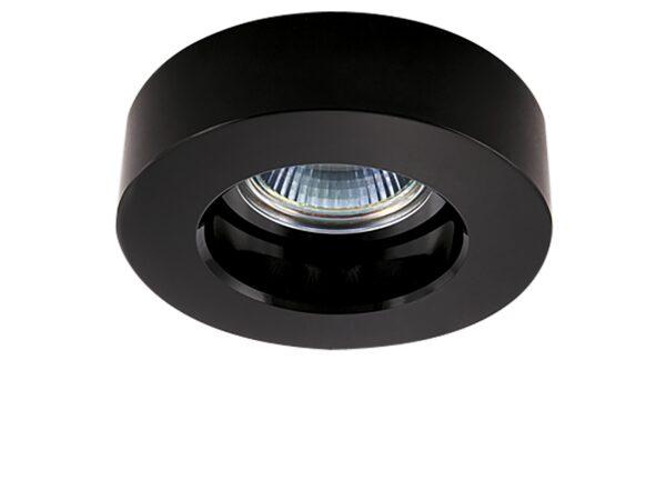 006117 Светильник LEI MR16/HP16 ХРОМ/ЧЕРНЫЙ (в комплекте)