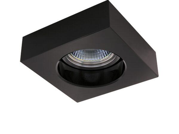006127 Светильник LUI MR16/HP16 ХРОМ/ЧЕРНЫЙ (в комплекте)
