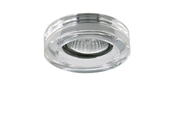 006150 Светильник LEI MICRO CR MR11 ХРОМ/ПРОЗРАЧНЫЙ (в комплекте)