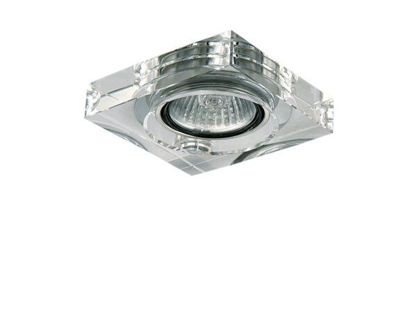 006160 Светильник LUI MICRO CR MR11 ХРОМ/ПРОЗРАЧНЫЙ (в комплекте)