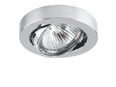 006234 Светильник MATTONI CYL MR16/HP16  ХРОМ (в комплекте)