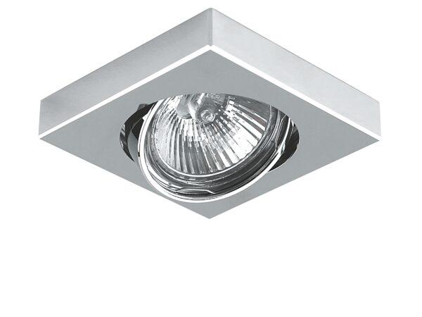 006244 Светильник MATTONI QUAD MR16/HP16  ХРОМ (в комплекте)