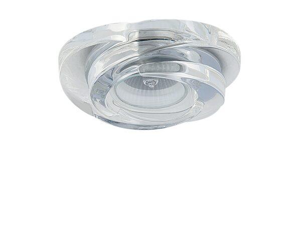 006400 Светильник SPIRA CR MR16 ХРОМ/ПРОЗРАЧНЫЙ (в комплекте)