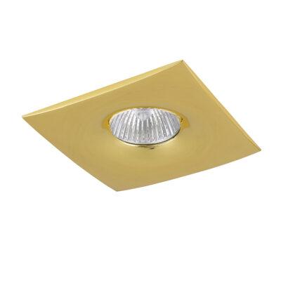 010032*** Светильник LEVIGO Q  MR16/HP16 ЗОЛОТО (в комплекте)