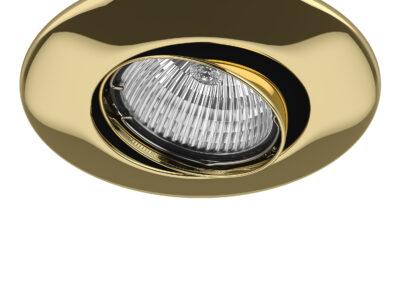 011052*** Светильник LEGA 11 ADJ MR11/HP11 ЗОЛОТО (в комплекте)