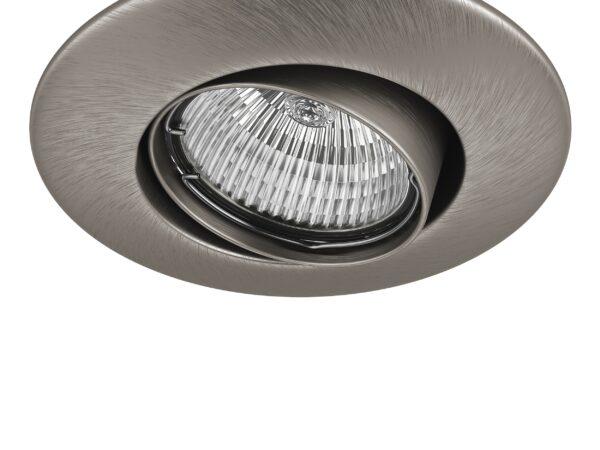 011055 Светильник LEGA 11 ADJ MR11/HP11 НИКЕЛЬ (в комплекте)