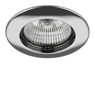 011074 Светильник TESO FIX MR16/HP16 ХРОМ (в комплекте)