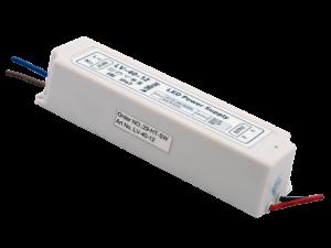 Блок Питания для ленты IP 67 пластик 40 W, 12V