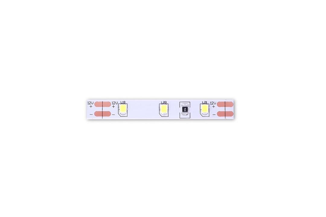 Лента светодиодная стандарт 2835, 60 LED/м, 4,8 Вт/м, 12В , IP20, Цвет: Холодный белый