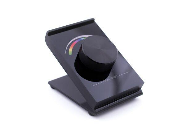 Радио пульт DESK-RGB с валкодером на 1 зону для RGB ленты
