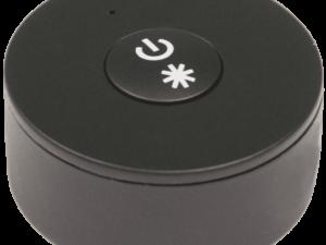 Мини радио пульт DESK-MINI-B на 1 зону с возможностью диммирования. Черный