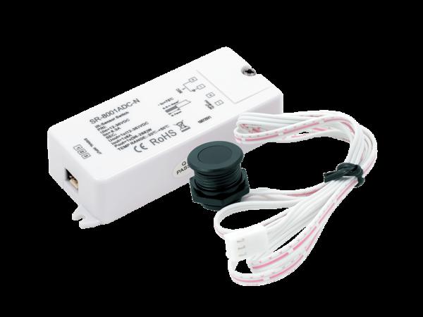 ИК-выключатель «взмаx руки» черный (new) 12-36В