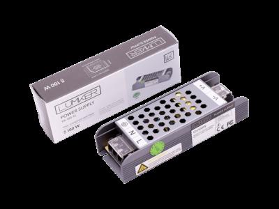 Блок питания для светодиодной ленты LUX компактный, 12В, 100Вт, IP20
