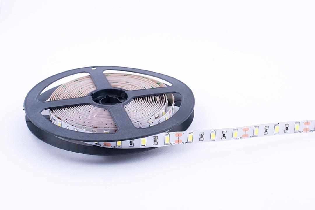 Лента светодиодная стандарт 5630, 60 LED/м, 20 Вт/м, 12В , IP20, Цвет: Холодный белый