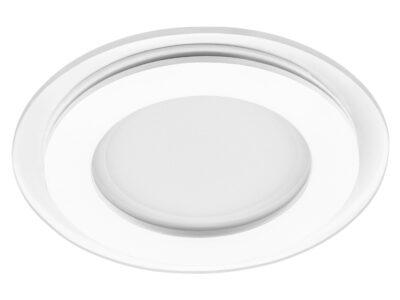 212010 Светильник ACRI LED 6W 480LM ХРОМ/ПРОЗРАЧНЫЙ 3000K (в комплекте)