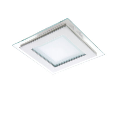 212020 Светильник ACRI LED 6W 480LM ХРОМ/ПРОЗРАЧНЫЙ 3000K (в комплекте)