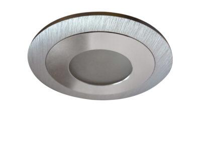 212170 Светильник LEDDY CYL LED 3W 240LM АЛЮМИНИЙ 3000K в стену в подрозетник с трансф (в комплекте)