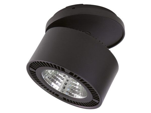 213847 Светильник FORTE INCA LED 40W 3400LM 30G ЧЕРНЫЙ 3000K (в комплекте)