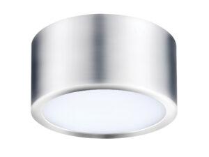 211914 Светильник ZOLLA CYL LED-RD 10W 780LM ХРОМ 3000K IP44 (в комплекте)