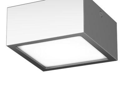 211924 Светильник ZOLLA QUAD LED-SQ 10W 780LM ХРОМ 3000K IP44 (в комплекте)