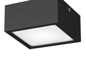 211927 Светильник ZOLLA QUAD LED-SQ 10W 780LM ЧЕРНЫЙ 3000K IP44 (в комплекте)