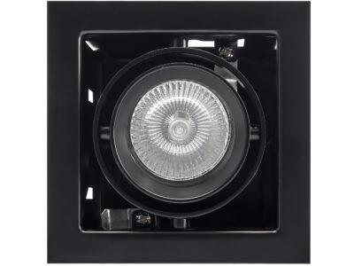 214018 Светильник CARDANO 16Х1 MR16/HP16 ЧЕРНЫЙ (в комплекте)