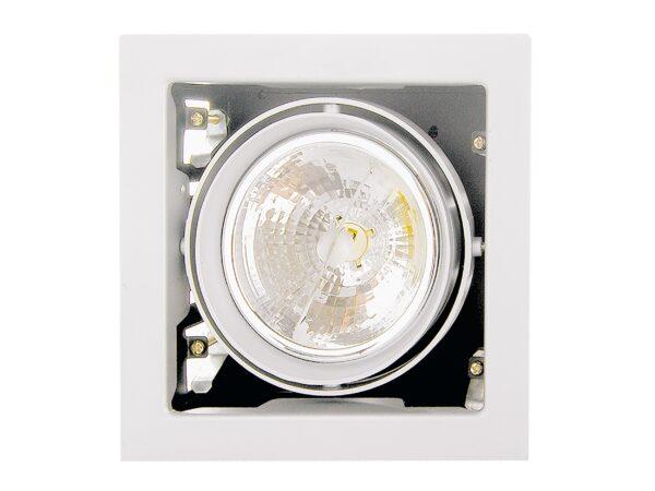214110 Светильник CARDANO 111Х1  БЕЛЫЙ (в комплекте)
