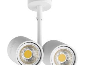 Светильник точечный накладной под заменяемые галогенные или LED лампы