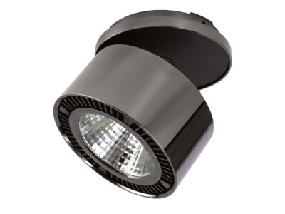 214828*** Светильник  FORTE INCA LED 26W 1950LM 30G ЧЕРНЫЙ ХРОМ 4000K (в комплекте)