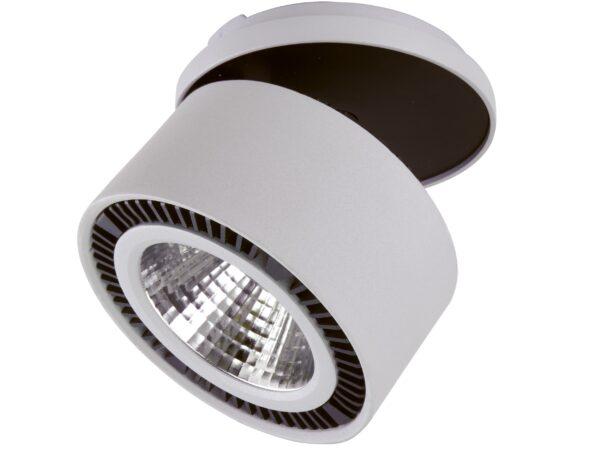 214849 Светильник FORTE INCA LED 40W 3400LM 30G СЕРЫЙ 4000K (в комплекте)
