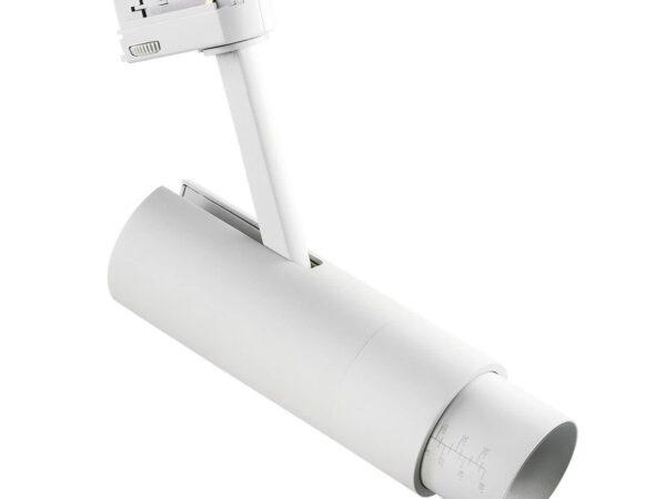 215446 Светильник для 3-фазного трека FUOCO LED 15W 950LM 5-60G БЕЛЫЙ 4000K IP20 (в комплекте)
