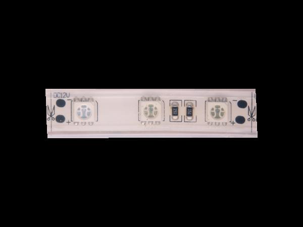 Лента светодиодная стандарт 5050, 60 LED/м, 14,4 Вт/м, 12В , IP68, Цвет: Зеленый