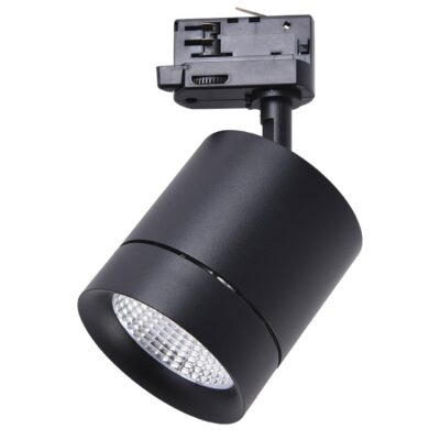 301574 Светильник для 3-фазного трека CANNO LED 15W 960LM 30G ЧЕРНЫЙ 4000K IP20 (в комплекте)