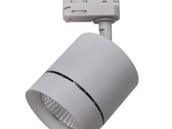301592 Светильник для 3-фазного трека CANNO LED 15W 960LM 30G СЕРЫЙ 3000K IP20 (в комплекте)