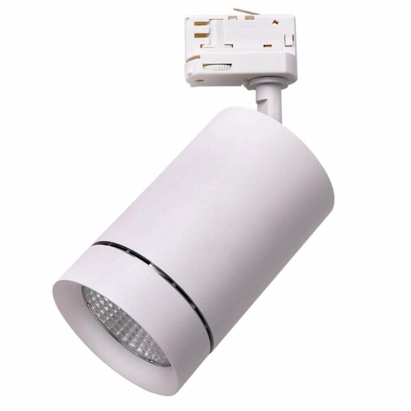303562 Светильник для 3-фазного трека CANNO LED 35W 2240LM 45G БЕЛЫЙ 3000K IP20 (в комплекте)
