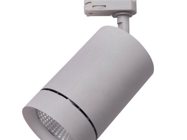 303594 Светильник для 3-фазного трека CANNO LED 35W 2240LM 45G СЕРЫЙ 4000K IP20 (в комплекте)