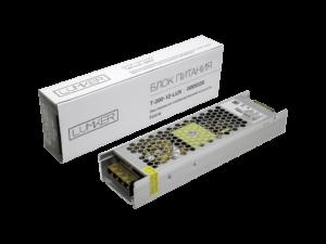 Блок питания для светодиодной ленты LUX компактный, 12В, 300Вт, IP20