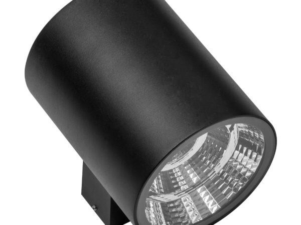371672 Светильник PARO LED 2*15W 2350LM 40G ЧЕРНЫЙ 3000K IP65 (в комплекте)