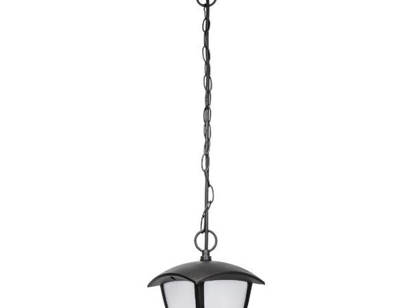 375070 (HL-6024) Светильник уличн подвесной LAMPIONE LED 8W 360LM 3000K IP54 (в комплекте)