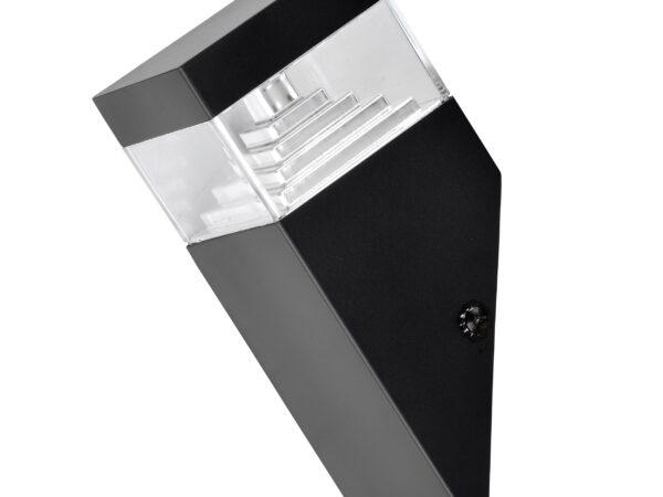 377607 (IVY-859WU) Светильник RAGGIO LED 6W 300LM ЧЕРНЫЙ 4000K IP55 (в комплекте)