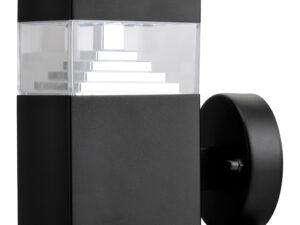 377617 (IVY-859AWU) Светильник RAGGIO LED 6W 300LM ЧЕРНЫЙ 4000K IP55 (в комплекте)