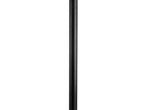 379737 (HL-30404) Светильник уличный парковый PIATTO LED 7W ЧЕРНЫЙ 450LM 3000K IP55 (в комплекте)