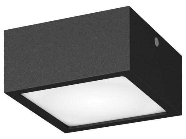 380273 Светильник ZOLLA QUAD LED-SQ 8W 640LM ЧЕРНЫЙ 3000K IP65 (в комплекте)