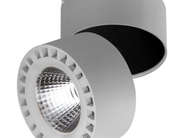 381393 Светильник  FORTE IP65 LED 35W 3500LM 30G СЕРЫЙ 3000K (в комплекте)