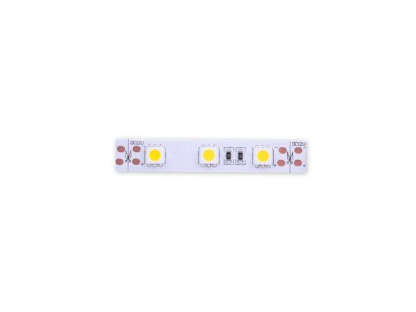 Лента светодиодная стандарт 5050, 60 LED/м, 14,4 Вт/м, 12В, IP20, Цвет: Теплый белый